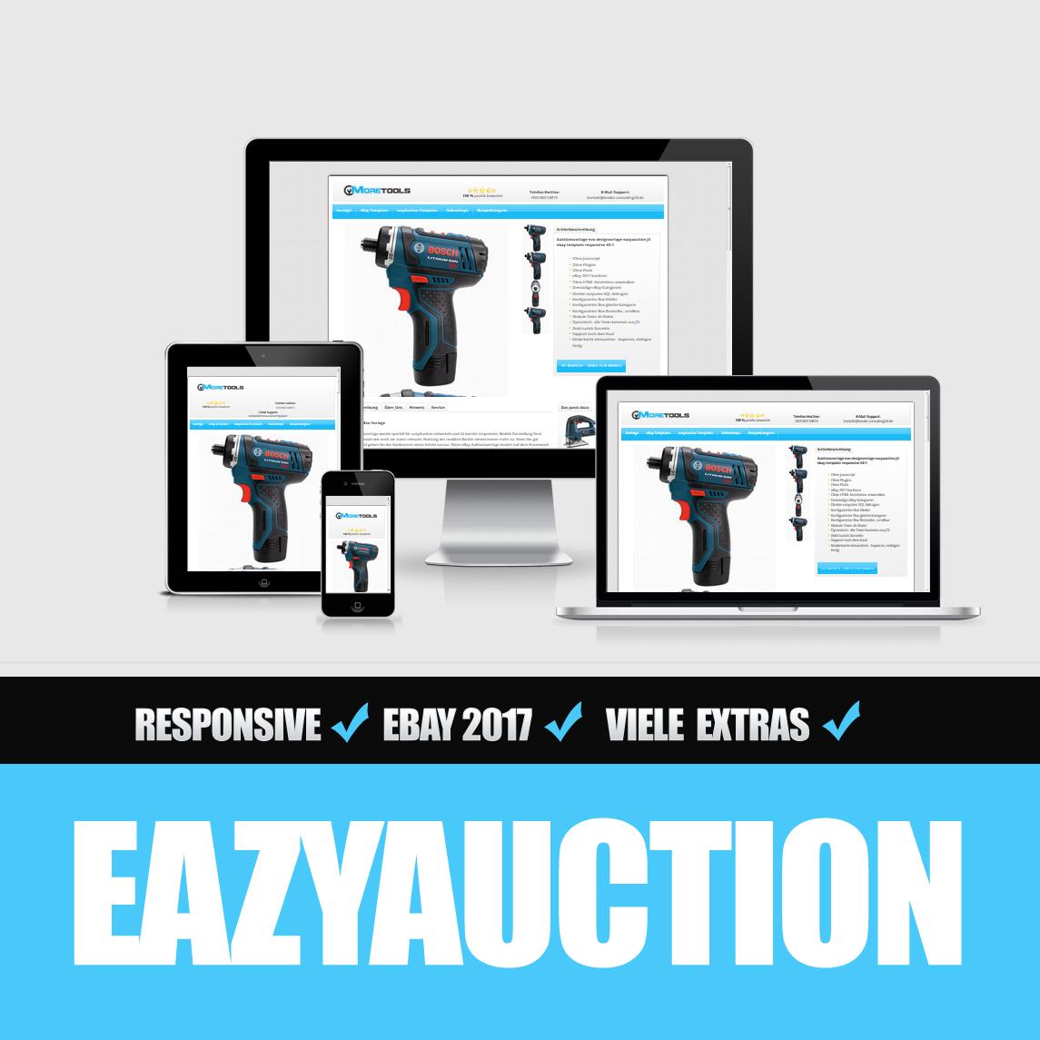 Eazyauction eBay Template 2017 #2-1