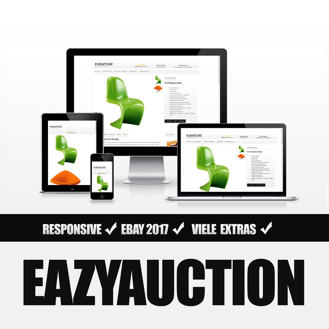 Eazyauction eBay Template 2017 #2-2