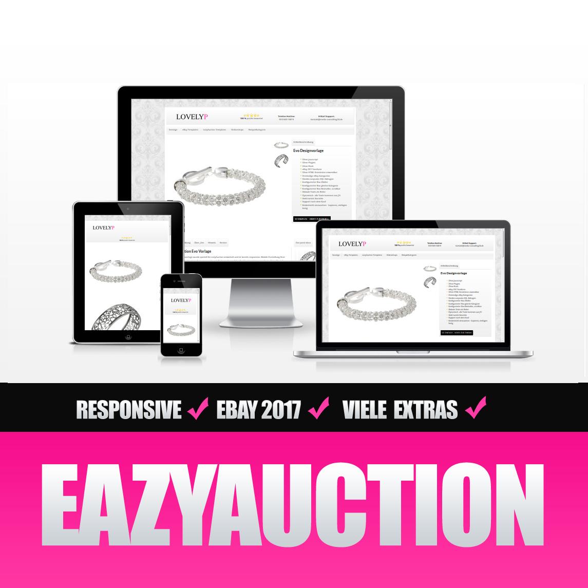 Eazyauction eBay Template 2017 #2-5