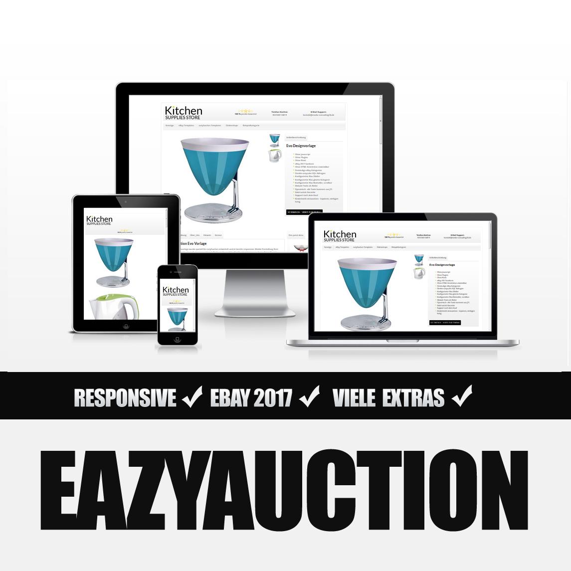Eazyauction eBay Template 2017 #2-6