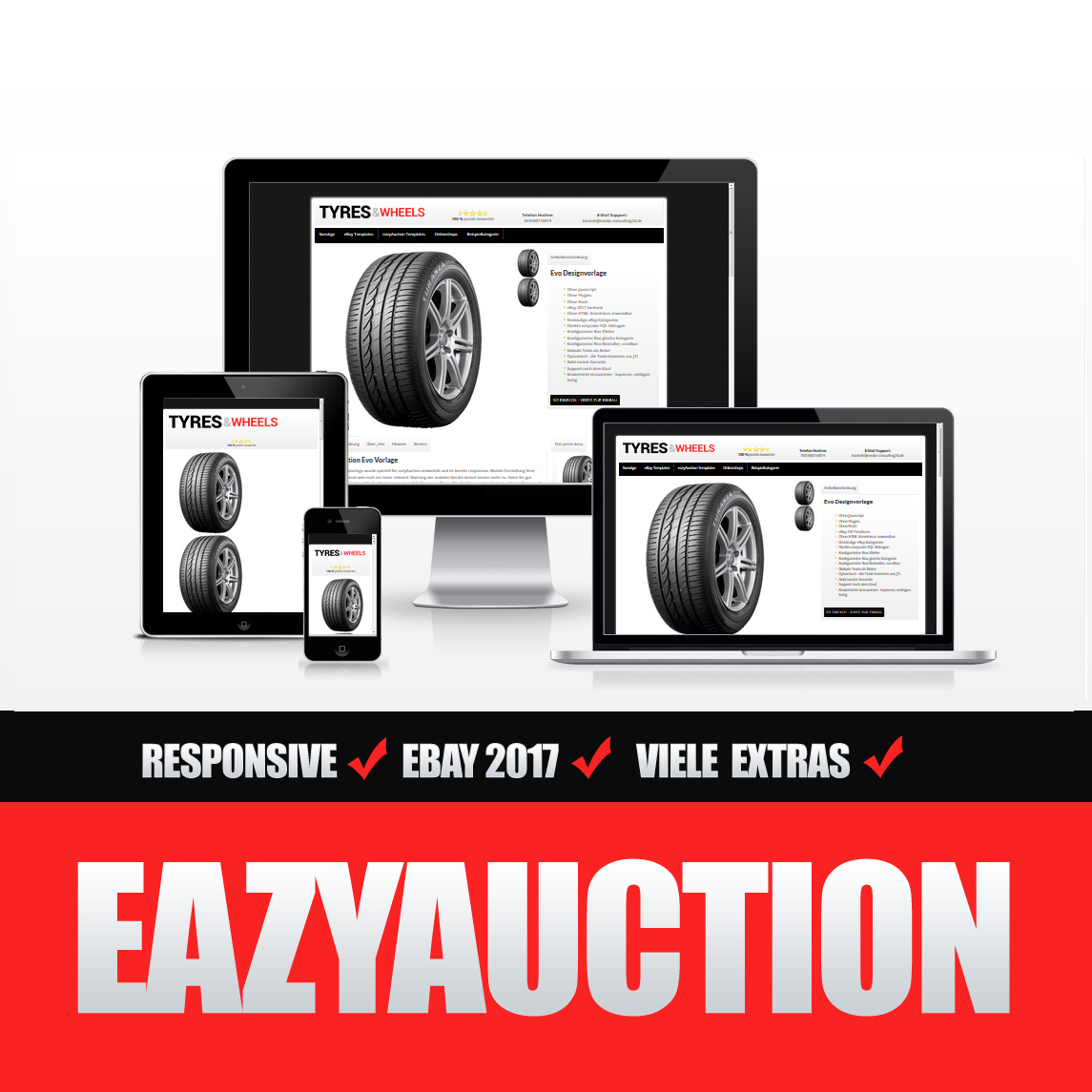 Eazyauction eBay Template 2017 #2-7