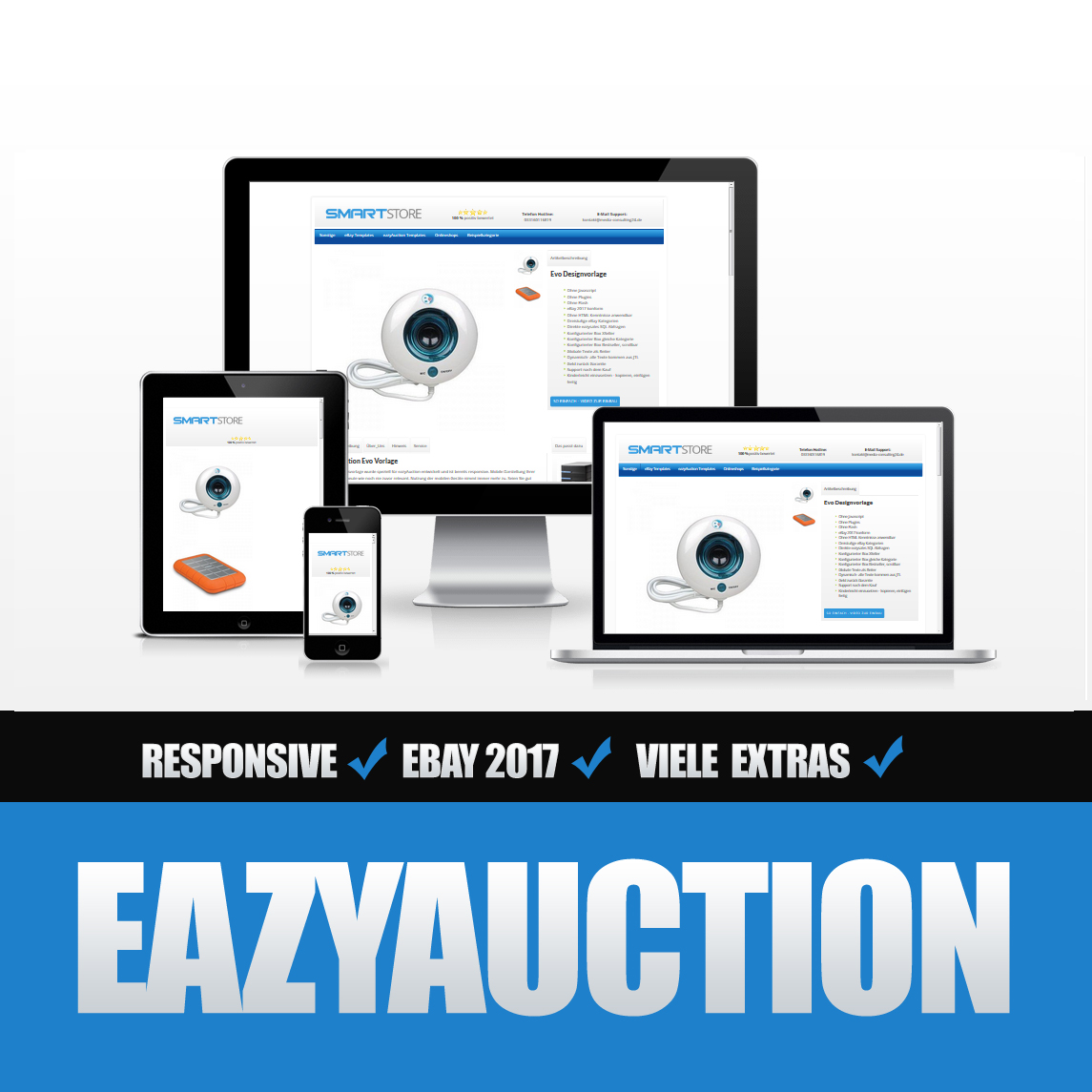 Eazyauction eBay Template 2017 #2-8