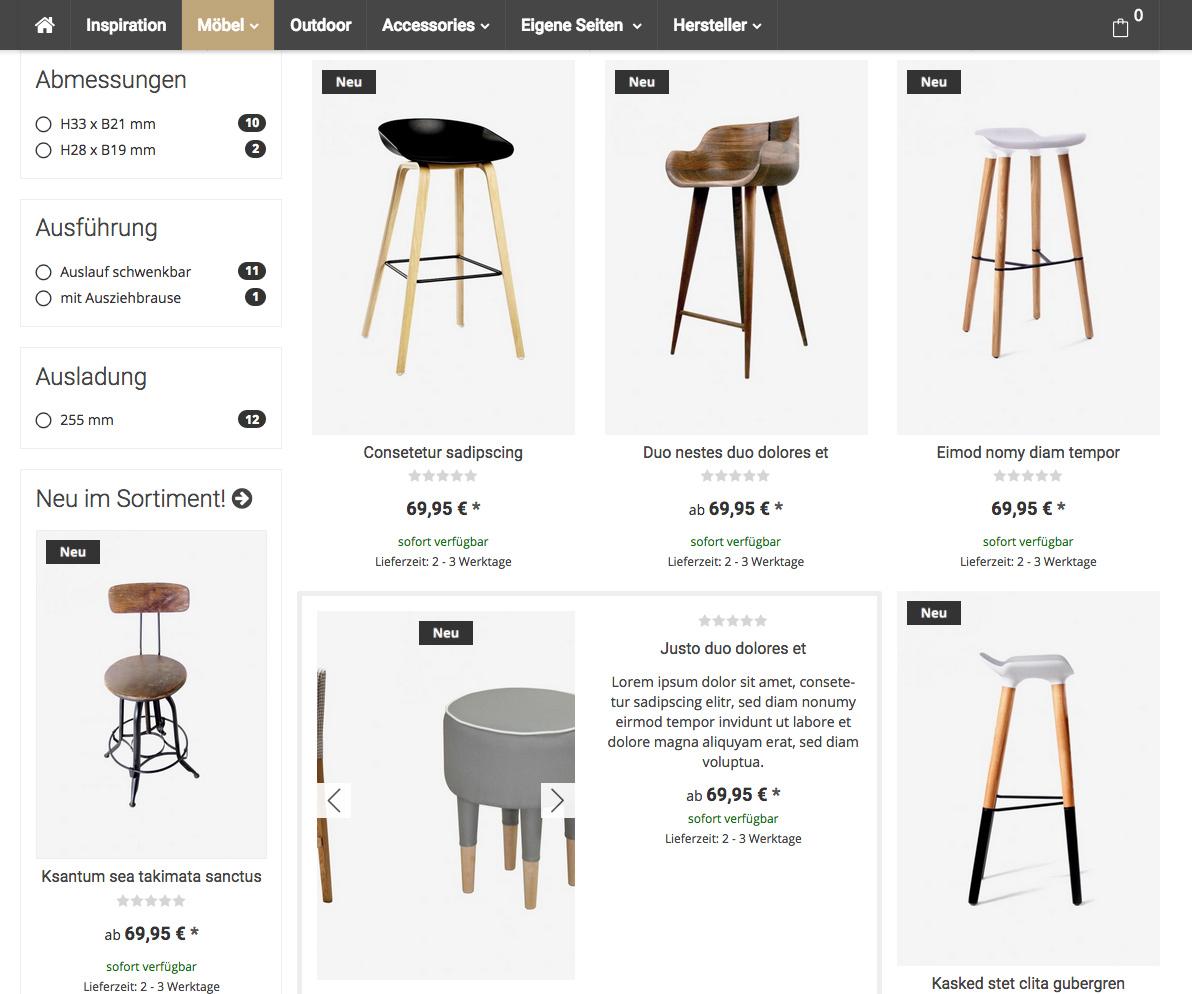 Flat - JTL-Shop Bootstrap Template