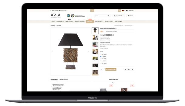 Bei Design legen wir sehr viel Wert auf die Klarheit und Übersichtlichkeit, ein Vorteil für Ihre Kunden.