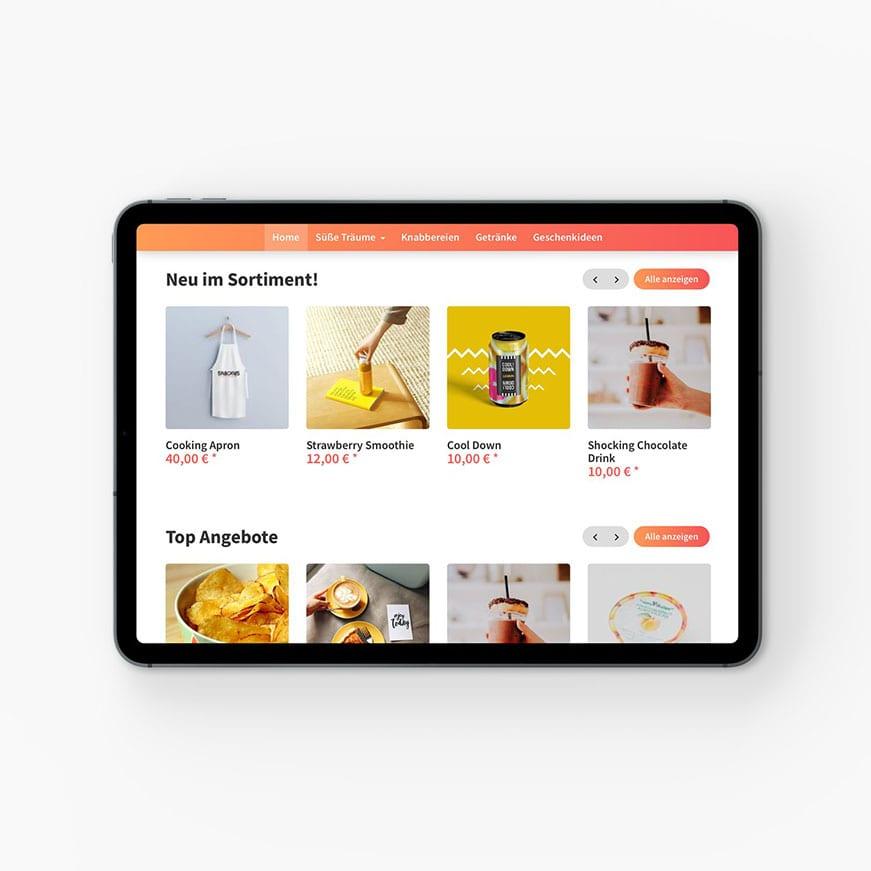 Startseite Produktteaser