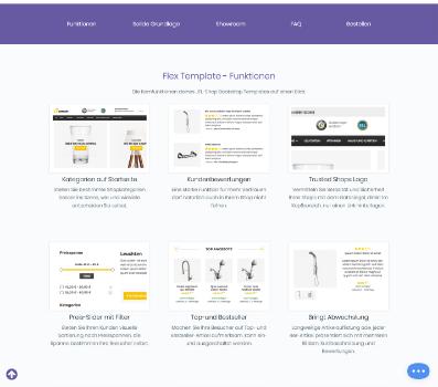 Flex | JTL-Store - Templates