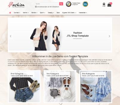 Fashion Startseite