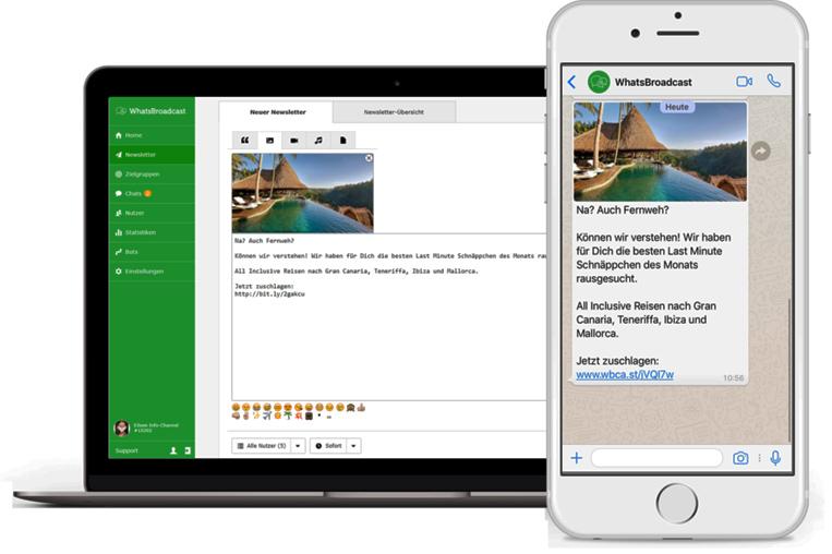 dank API unfassbare Möglichkeiten direkt auf dem Handy Deiner Kunden
