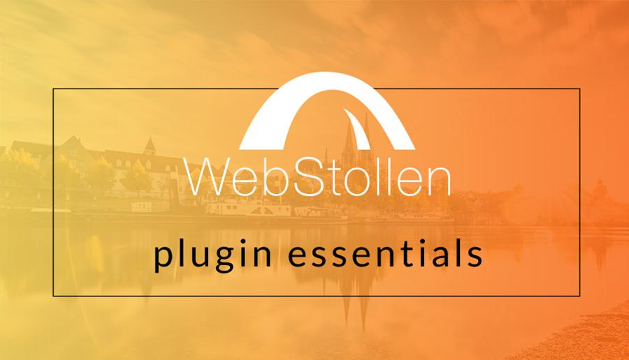 WebStollen - plugin essentials