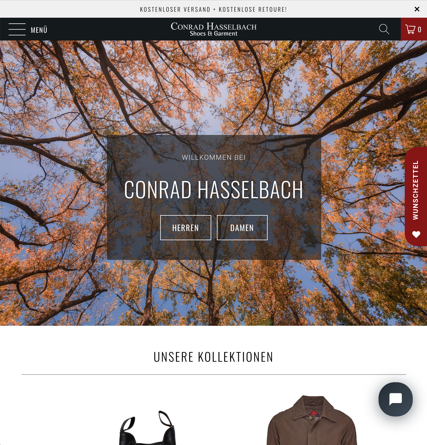 Conrad Hasselbach Shoes & Garment
