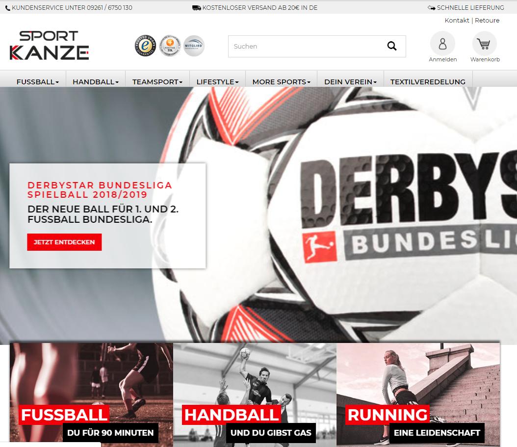 Relaunch Sport-Kanze