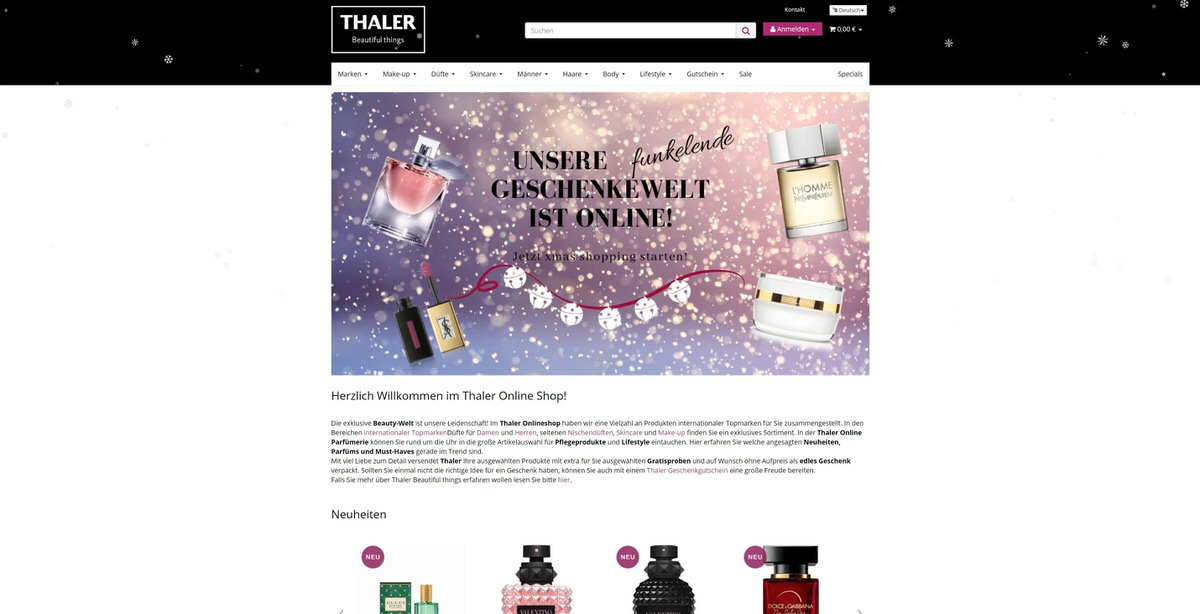 Thalershop