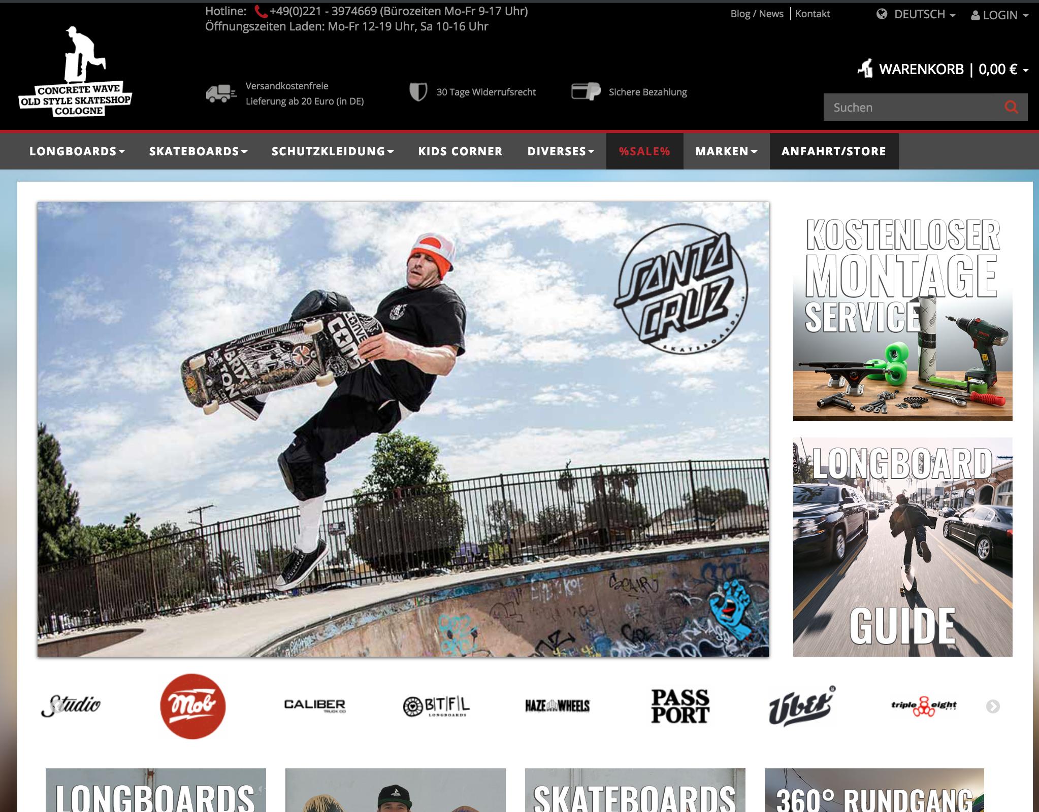 Concretewave Skateshop