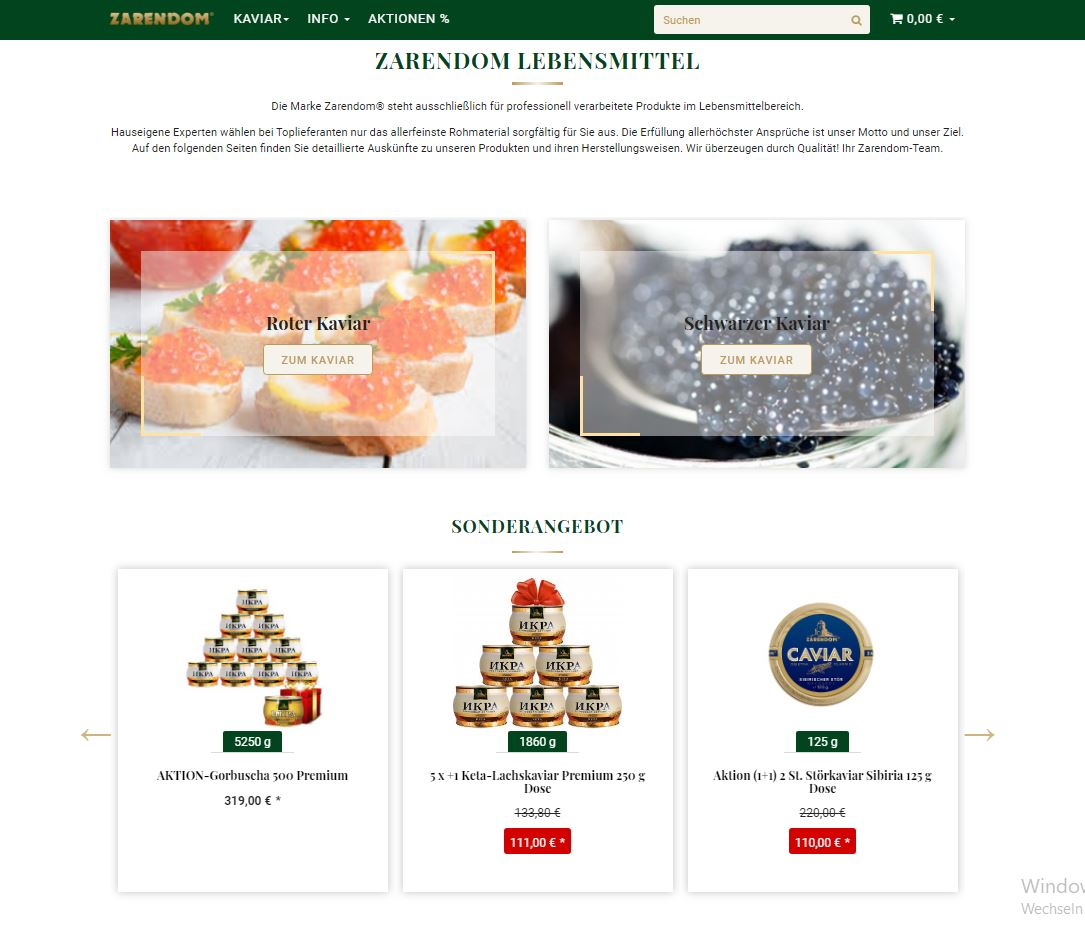 Zarendom Lebensmittel GmbH