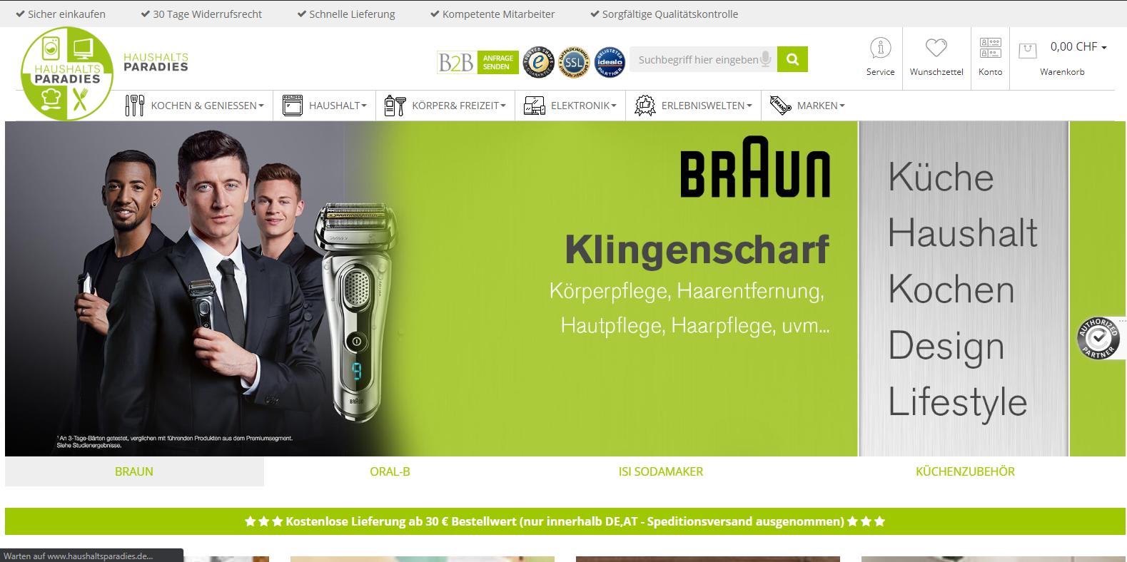 Haushaltsparadies GmbH