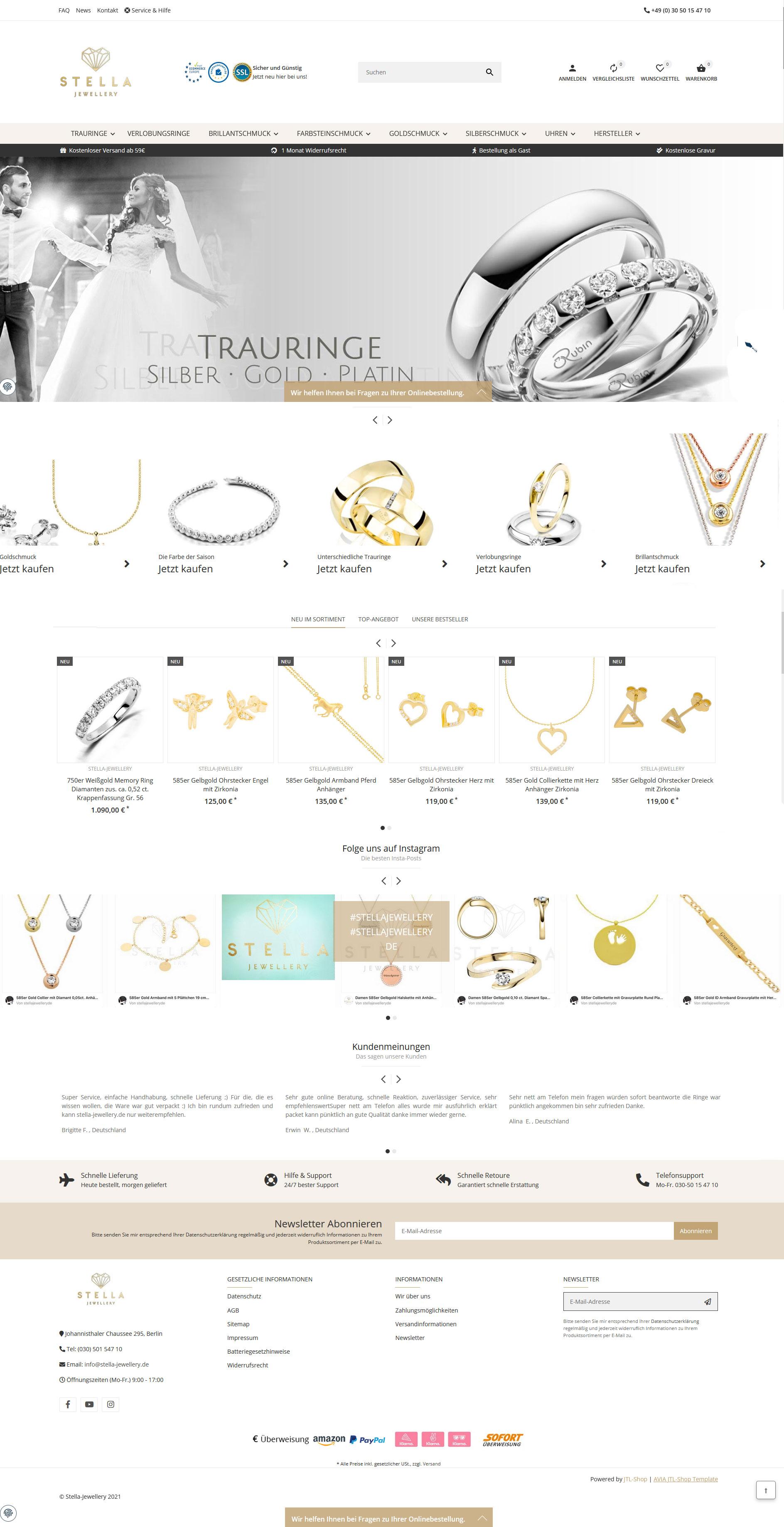 Stella Jewellery by Rubin Juw.
